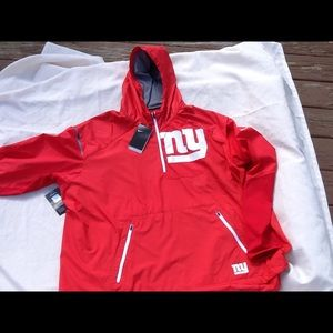 check out 1d136 b7192 Nike New York Giants red color rush jacket 3xl NWT